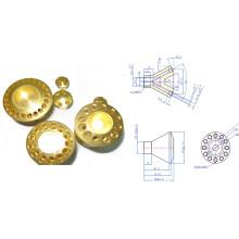12 Holes Brass Header
