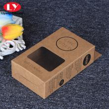 Boîte suspendue d'emballage de fenêtre en plastique PVC d'affichage personnalisé