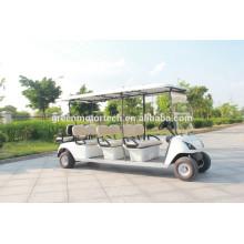 motor deportivo eléctrico 4KW del golf de los asientos ambientales 8 asientos