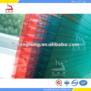 Plastic Materials Polycarbonate Hollow Sheet for roofing