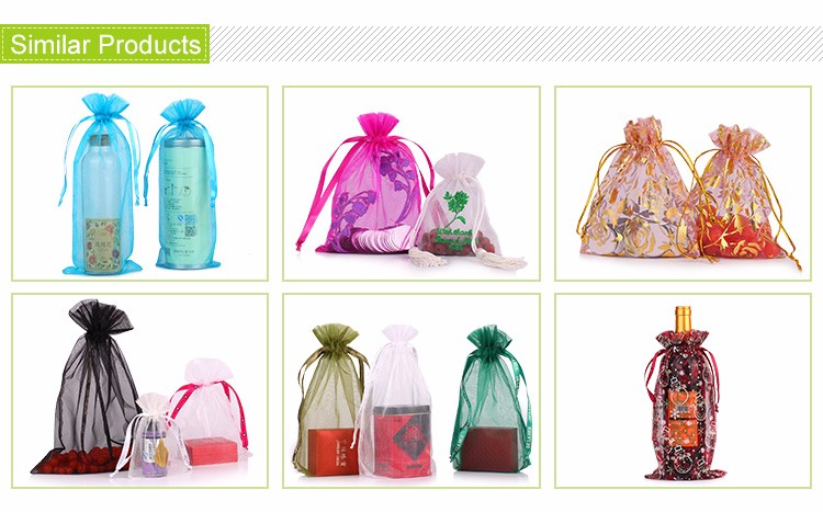 Stylish organza bag