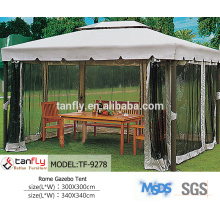 2015 hot sale dulxe aluminium sun garden parasol umbrella