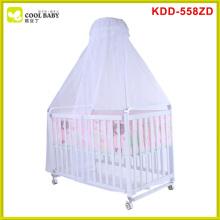 China-Hersteller NEUES Entwurfs-Edelstahl-Baby-Laufstall