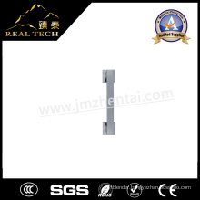 Single Sided Glass Door Stainless Pull Handle Square Rose Single Pull Handle