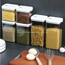Tanque de almacenamiento creativo de contenedores de comida de 1900 ml