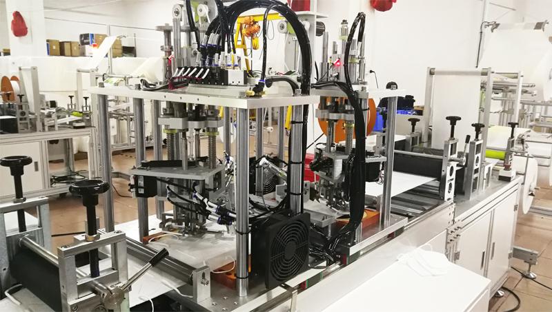 Nonwoven Fabric Mask Making Machine