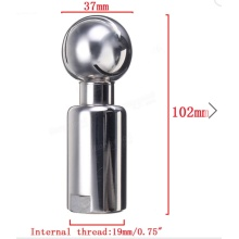 Stainleess Rotary Spray Ball Sanitary Female Thread