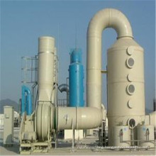 FRP Horizontal Packed Bed Fume Scrubber Fume Exhaust System