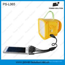 Lanterna solar com rádio FM para o mercado de Afica