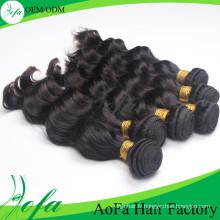 Extension de cheveux humains remy 100% non transformés de cheveux de la catégorie 7A