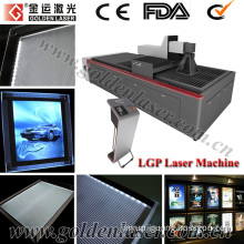 PMMA Acrylic LGP Laser Engraving/Cutting Machine for Light Guide Panel