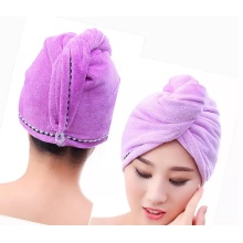 Microfiber Colorful Edge Dry Hair Towel