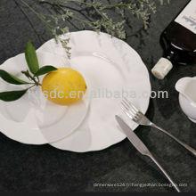 Hôtel & restaurant ensemble de dîner de porcelaine de luxe et chaque salle à manger fixe