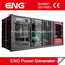 1000kw con generador diesel KTA50-G3 del motor CUMMINS con el tipo silencioso del contenedor