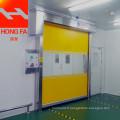 Porte industrielle rapide en PVC