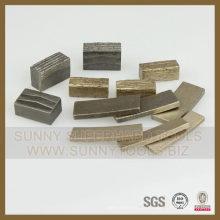 Vente chaude Garnite Stone Cutting Marble Diamond Segment