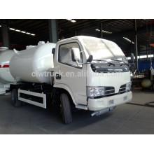 Dongfeng Mini 4 * 2 vehículo de transporte de gas licuado de petróleo, China nuevas fábricas de camiones cisterna de gas