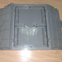 Récipients en plastique emboîtés de haute qualité avec couvercles