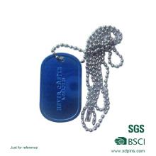 Etiqueta de identificación de metal personalizada al por mayor fabricada en China
