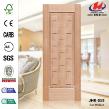 3.1MM MDF External None-Standard Red Walnut Door Skin