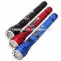 2015 flashlight with telescopic magnetic pick-up tool, flashlights with magnet