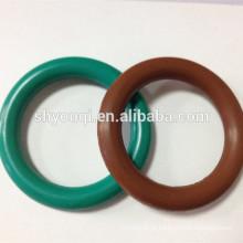 Anel de anel de vedação mecânico de borracha de silicone de grau alimentício de cor diferente viton o rings fkm teflon ptfe oring