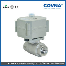 2 way brass electric actuator power water ball valve for water treatment