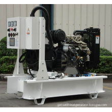 50kva Water Cooled Diesel Perkins Generator With 1103a-33tg2 Engine And H Class Insulation System