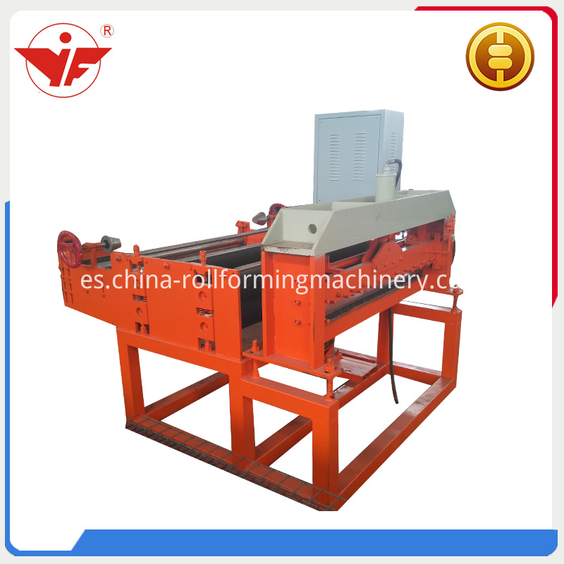 Cut to length roll forming machine