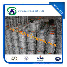 Galvanized Weight Barbed Iron Wire (Factory)