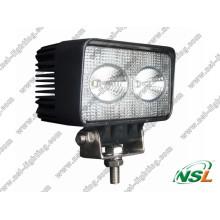 CREE Rectangle 20W LED Lampe de travail pour tracteur LED Lampe de camion étanche
