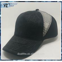 Insignia customized 5panel con la gorra de béisbol del acoplamiento buena calidad