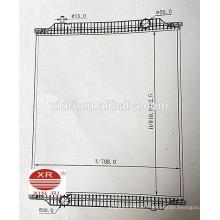 Radiador para camiones de aluminio de suministro directo de fábrica para MAN NG / MAN NL 81061016500 81061016501