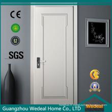 Laque apprêtée blanche / porte intérieure / extérieure préfinie peinte