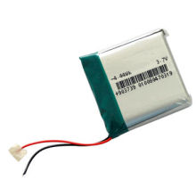 3.7V 1200mAh Lithium Polymer Battery, LP 903739, with PCM, 500 Cycles, ODM/OEM, Soft Package