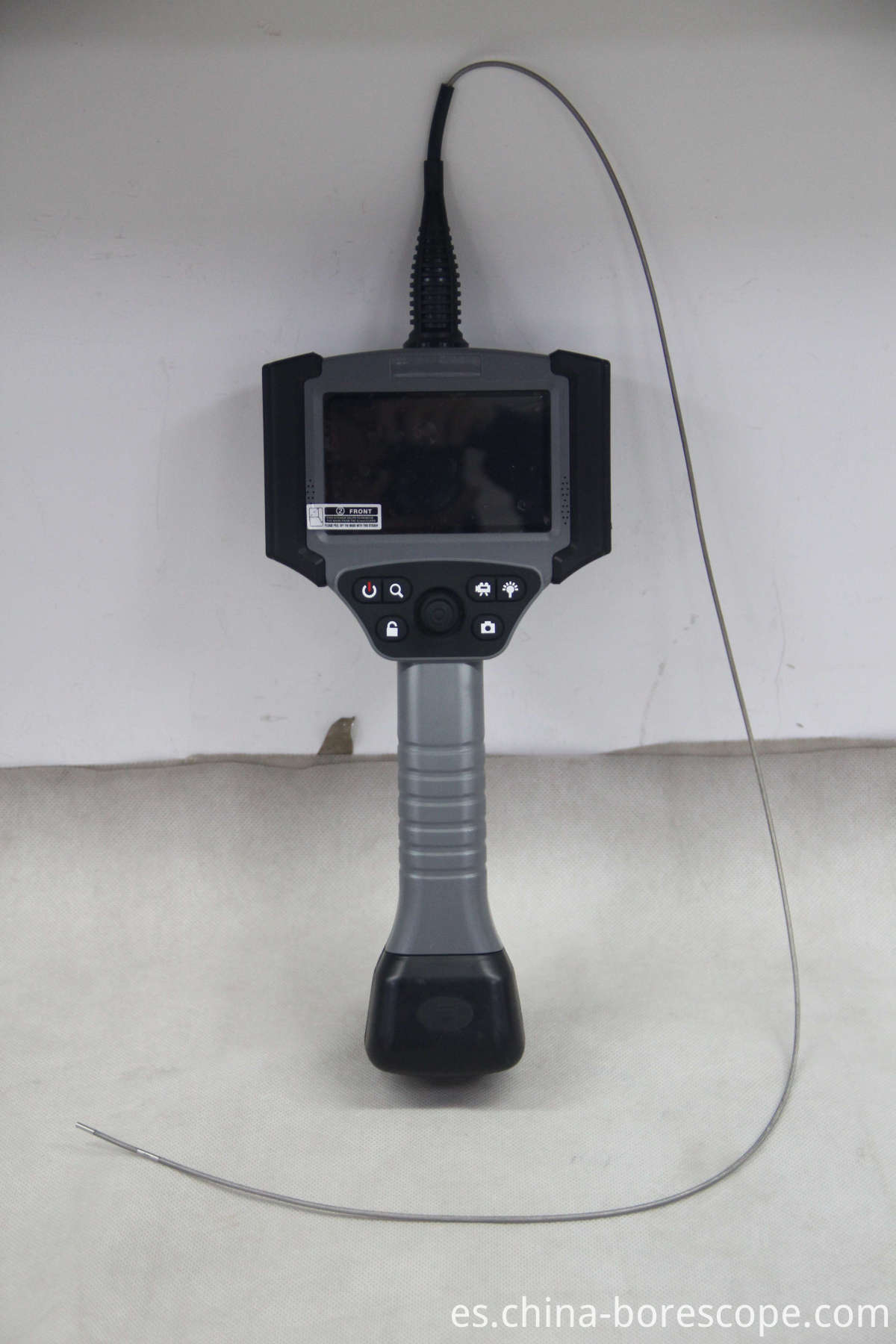 Heat exchanger industrial video borescope