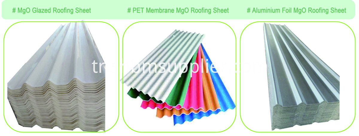 "Aluminium Foil ""Iron Crown"" Anti-typhoon MgO Roof Sheet"