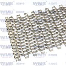 Special Flat Wire Mesh Belt with Welding Type