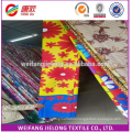 100% polyester flatpigment 3D bed sheet fabric soft feeling
