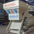 concrete mixer machine with conveyor belt
