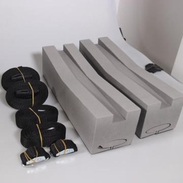 Универсальный крой для перевозки грузов на крыше для каноэ / каяков из пеноблока GIBBON