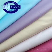 tissu en polyester à mailles interlock absorbant l'humidité à séchage rapide