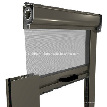 Résidentiel Aluminium Roller Back Retractable Fly Screen