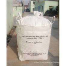 1000 Kg Jumbo Bag für Bitumen mit Hochtemperaturwiderstand Liner
