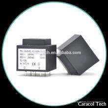 ЭИ 28 низкой частоты Инкапсулированный трансформатор с 2.0 VA и 50/60Гц