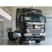 SINOTRUK HOWOA7 6x4 tractor truck with high roof cab , 340HP