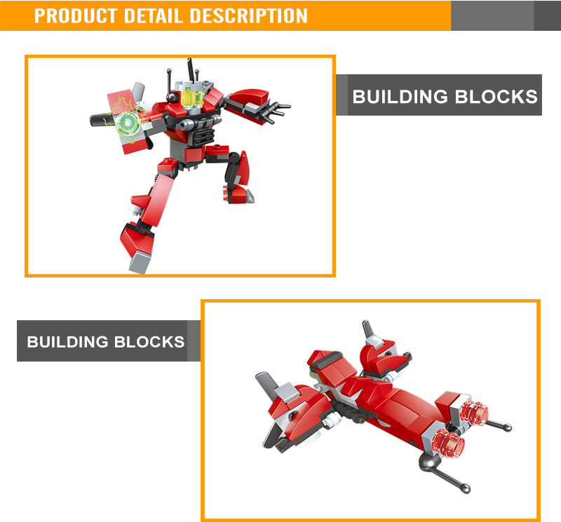 plastic building brick diy intellect toys