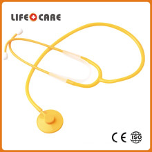 Medical Plastic Disposable Toy Stethoscope with Single Head