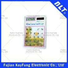 Calculatrice de taille de poche transparente à 8 chiffres pour la promotion (BT-923)