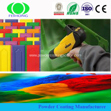automotive polyester epoxy powder coating with chemical resistant